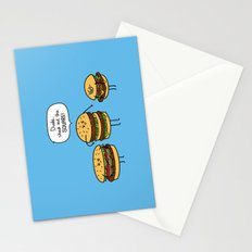 Burger Bullies Stationery Cards