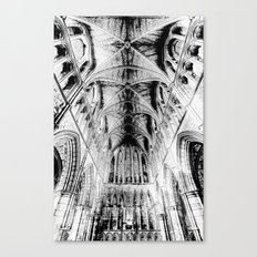 Southwark Cathedral London Art Canvas Print