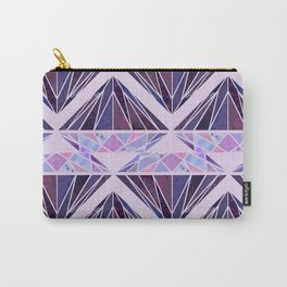 Purple Diamond2 Carry-All Pouch