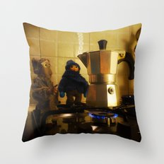 ESPRESSO I - animated thirst Throw Pillow