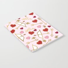 Cupid Love (soft pink) Notebook