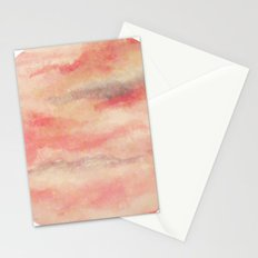Red sky at night Stationery Cards