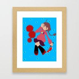lucid dreamer (normal color version) Framed Art Print