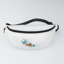 Artistic Morpho and Monarchs Fanny Pack