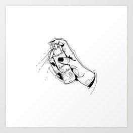 human repellent Art Print