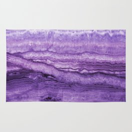 Mystic Stone Wild Violet Rug