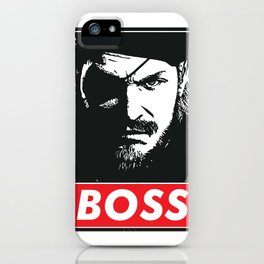Big Boss - Metal Gear Solid iPhone Case