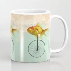 unicycle goldfish Coffee Mug
