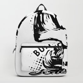 Bun going up on a school day shirt Backpack