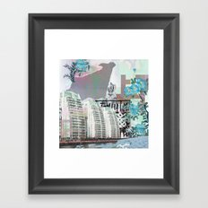 Media city Framed Art Print