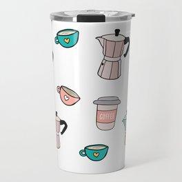 Moka espresso coffee pot Travel Mug