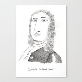 Christopher Pinchbeck Senior Canvas Print