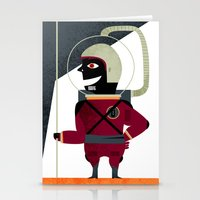 spaceman Stationery Cards featuring SPACEMAN by Eleonora