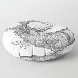 Koi Tree Floor Pillow