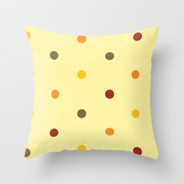 Polka Dot Love Throw Pillow