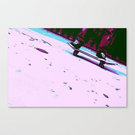 Rolling By Canvas Print