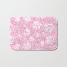Pink Pens Bath Mat