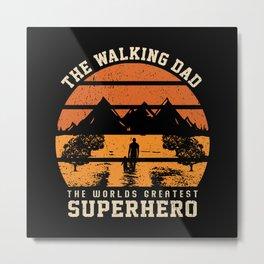 THE WALKING DAD Metal Print