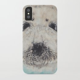 Seal with it iPhone Case