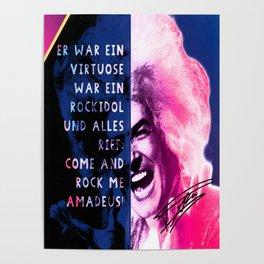 Rock Me Amadeus Poster