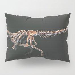 Allosaurus Fragilis Skeleton Study (No Labels) Pillow Sham