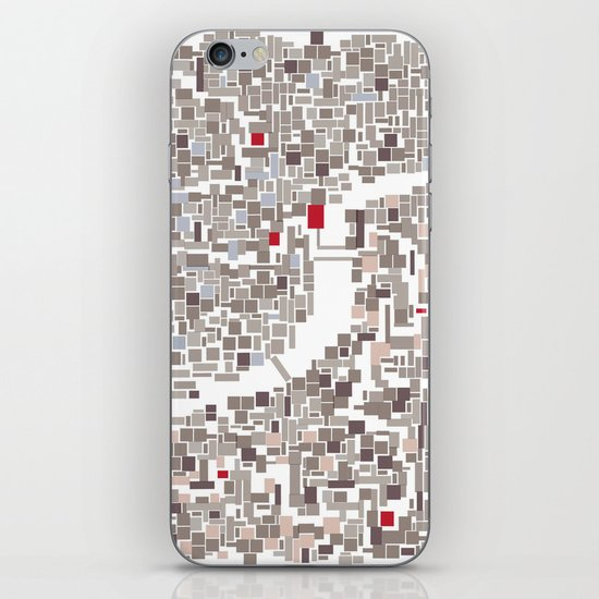 mapping home iPhone & iPod Skin