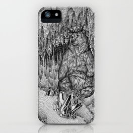 Cave of the Bear King iPhone Case