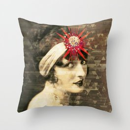 Flapper Geometry Throw Pillow