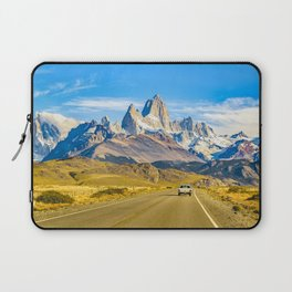 Snowy Andes Mountains, El Chalten, Argentina Laptop Sleeve