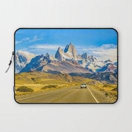 Snowy Andes Mountains, El Chalten, Argentina Laptop Sleeve