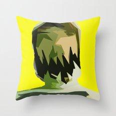 Monster Face 2 Throw Pillow