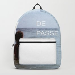 THE PAST IS BEHIND YOU - FONT PIECE Backpack