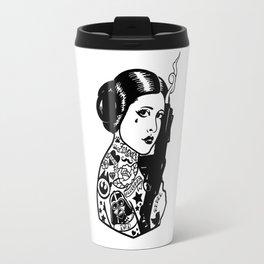 Carrie Fisher Tattooed star princess... Travel Mug