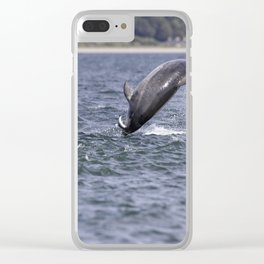 This fresh tasty atlantic salmon Clear iPhone Case