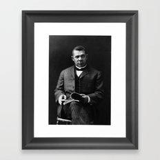 Vintage Scholar Framed Art Print