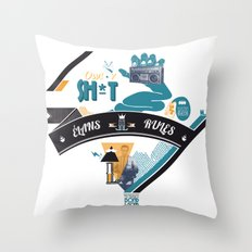 L. Throw Pillow