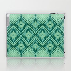 watercolor diamond seafoam green Laptop & iPad Skin