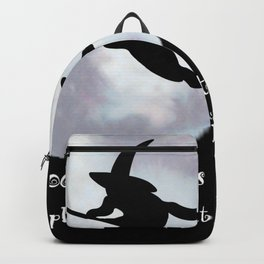 Witch, Witch Flying Across the Moon Backpack