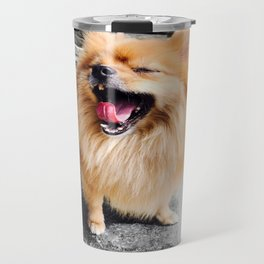 Heart of a Lion Travel Mug