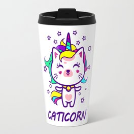 Caticorn - The Magical Unicorn Cat - It is so meowgical Travel Mug