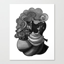 A Woman's Heart (The Plan) Canvas Print