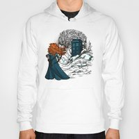 hallion Hoodies featuring Follow Your fate by Karen Hallion Illustrations