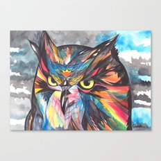 Whimsical Owl  Canvas Print