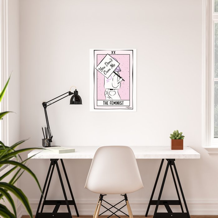 The Feminist - You Don't Own Me Poster