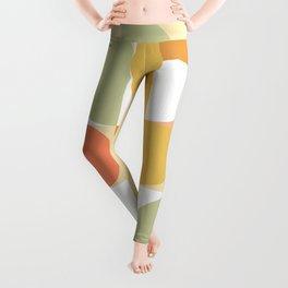 The colours of Summer #geometric #pattern Leggings