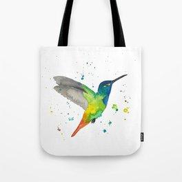 Hummingbird watercolor 2 Tote Bag