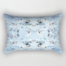 Crystals Rectangular Pillow