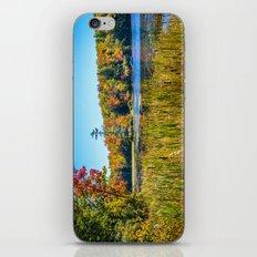 Along the fishing marsh. iPhone & iPod Skin