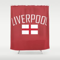 liverpool Shower Curtains featuring Liverpool by Earl of Grey