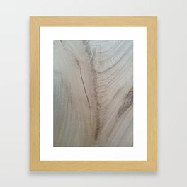 drw art - wood = good 4 soulfood Framed Art Print